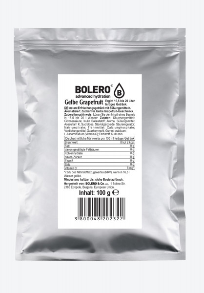 Bolero Yellow Grapefruit