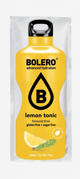 bolero lemon tonic drink sachet